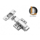 CRESTON CH-509A CONCEALED HINGES/ HYDRAULIC-FULL OVERLAY