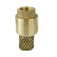 CRESTON CBF-001 BRASS FOOT VALVE 1""