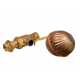 CRESTON CBL-001 BRASS FLOAT VALVE  1""