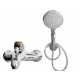 CRESTON CPL-470 Bath Shower Mixer with 3 Function Telephone Shower Head